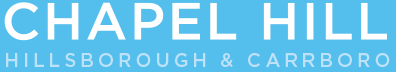 Chapel Hill CVB logo footer